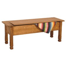 Fresno Wood Storage Dining Bench by Loon Peak