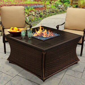 Mendocino Propane Fire Pit Table by California Outdoor Concepts