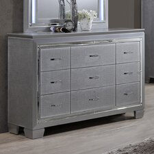 9 Drawer Dresser by Best Quality Furniture
