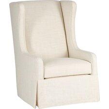 Reagan Swivel Wingback Chair by Gabby