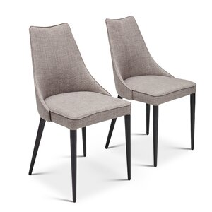 Saramarie Upholstered Dining Chair (Set of 4) by Orren Ellis