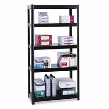 Boltless 72 4 Shelf Shelving Unit Starter by Safco Products Company