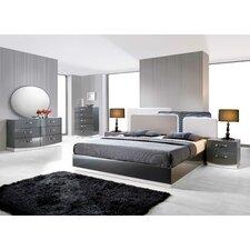 Valencia Platform 5 Pieces Bedroom Set by BestMasterFurniture