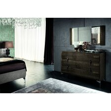 Dune 3 Drawer Dresser by Rossetto USA