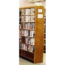 Double Face Shelf Adder 96 Standard Bookcase by W.C. Heller