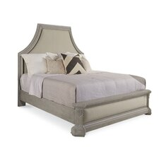 Carolin Upholstered Panel Bed by One Allium Way