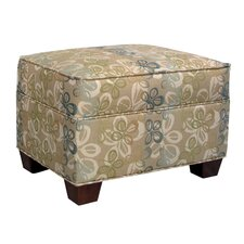 Finn Ottoman by Edgecombe Furniture