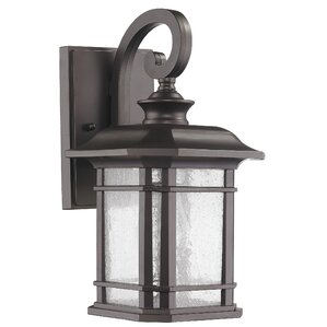 Fresno 1 Light Outdoor Wall Lantern