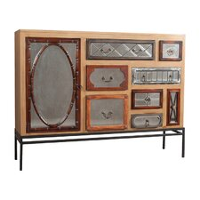 Abelia 7 Drawer 2 Door Accent Cabinet by Bungalow Rose