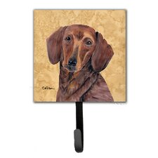 Dachshund Leash Holder and Wall Hook by Caroline's Treasures