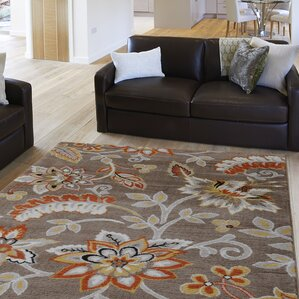 Selina Tufted Brown Area Rug