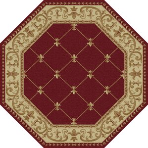 Nice Clarence Red Area Rug