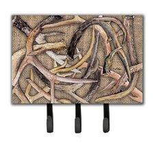 Deer Horns Key Holder by Caroline's Treasures
