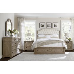 Stanley Wethersfield Estate Upholstered Customizable Bedroom Set ...