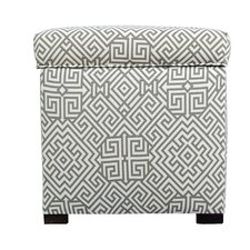 Santorini Square Shoe Storage Ottoman by MJL Furniture