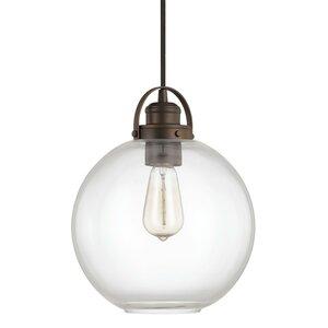 Caster 1 Light Globe Mini Pendant