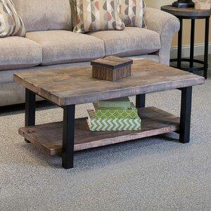 Somers 42 Wood/Metal Coffee Table by Loon Peak