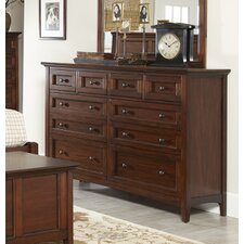 Beacon Street 10 Drawer Dresser by Avalon Furniture