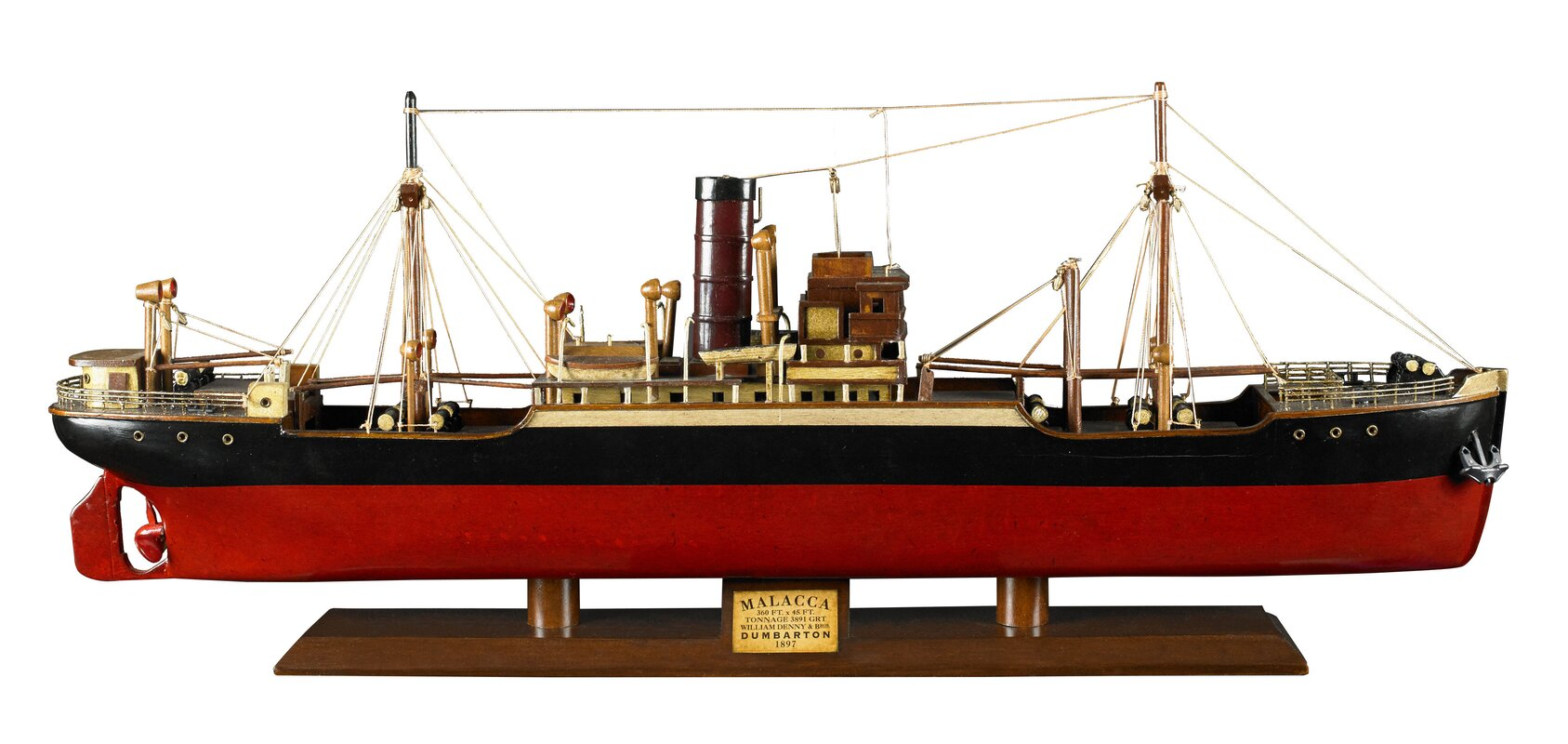 Authentic Models Tramp Steamer Malacca Model Boat Wayfair Ca