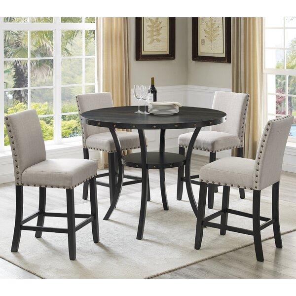 5 Piece Dining Room Sets Amazon Com: Roundhill Furniture Biony Espresso Wood 5 Piece Dining Set