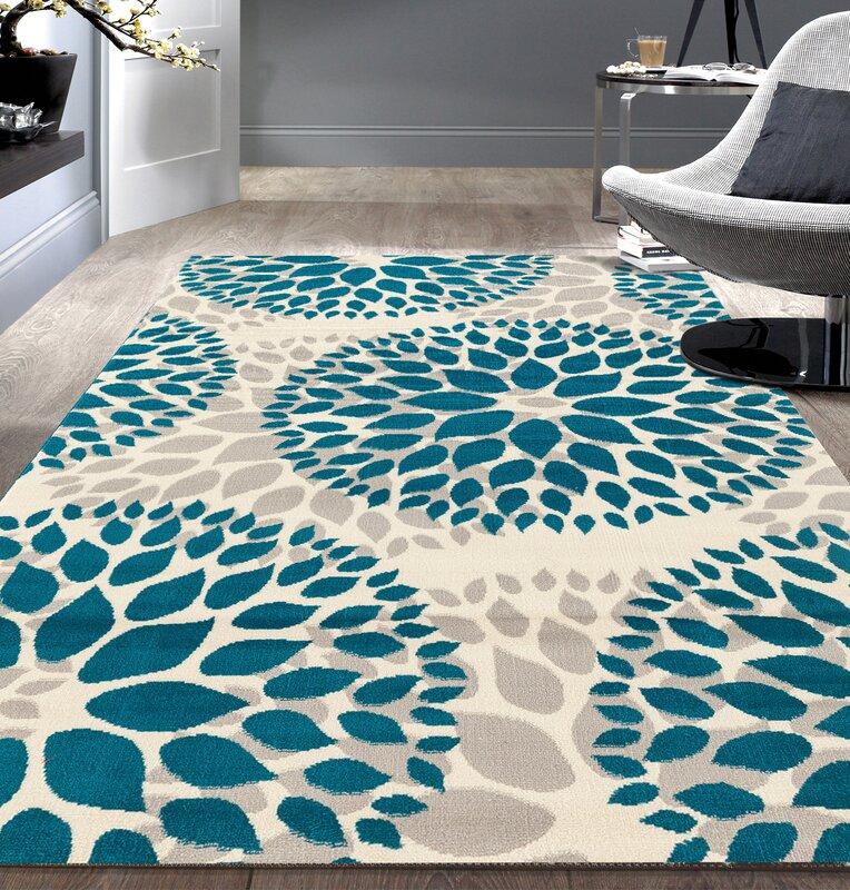 defaultname varick gallery wallner blue area rug u0026 reviews wayfair