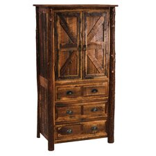 Premium Barnwood Armoire by Fireside Lodge