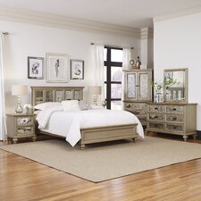 Visions Panel 5 Piece Bedroom Set by Home Styles