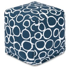 Fusion Cube Ottoman by Majestic Home Goods