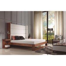 Lyon Upholstered Platform Bed by Casabianca Furniture