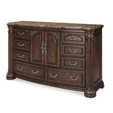 Monte Carlo II 8 Drawer Combo Dresser by Michael Amini (AICO)