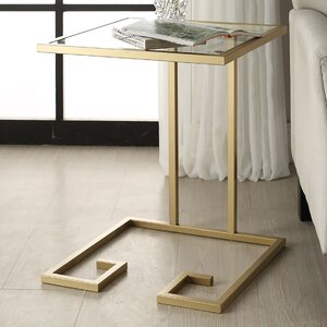 Panther End Table by Mercury Row