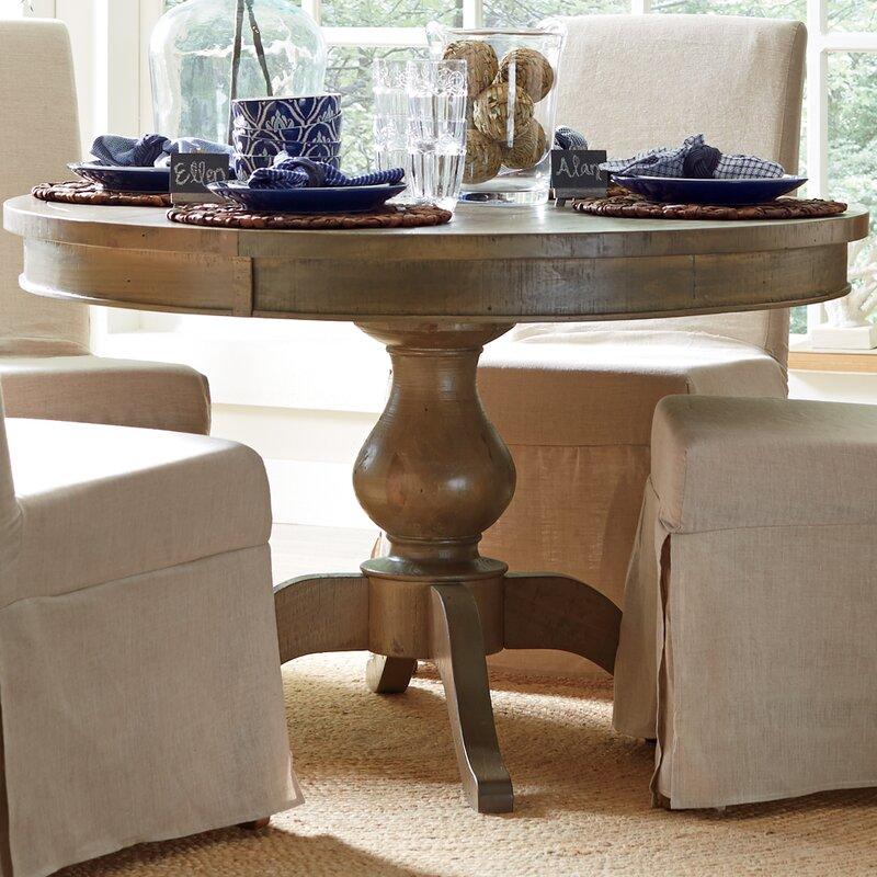default_name - Birch Lane™ Seneca Round Dining Table & Reviews Wayfair