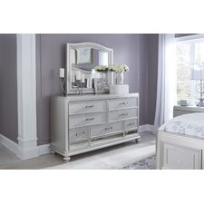 Guillaume 7 Drawer Dresser with Mirror by Willa Arlo Interiors