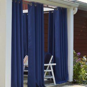waterproof outdoor curtains | wayfair