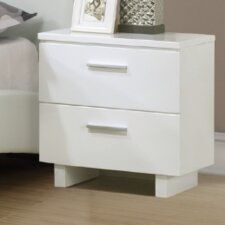 Jake 2 Drawer Nightstand by A&J Homes Studio