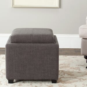 Brandon Single Tray Storage Ottoman by Willa Arlo Interiors