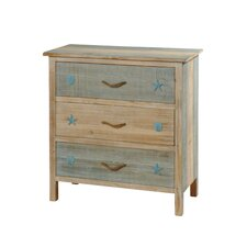 Hansville 3 Drawer Chest by Rosecliff Heights
