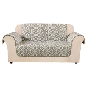 Furniture Flair Flash Loveseat T-Cushion Slipcover by Sure Fit