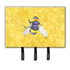 Bee Key Holder by Caroline's Treasures