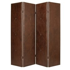 86 x 76 Copley Screen 4 Panel Room Divider by Screen Gems