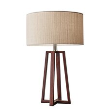 """Greenhalgh 23.75"""" Table Lamp with Drum Shade"""