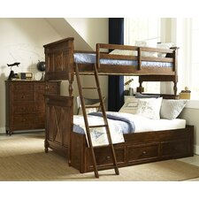 Big Sur By Wendy Bellissimo Twin over Full Bunk Bed by Wendy Bellissimo by LC Kids