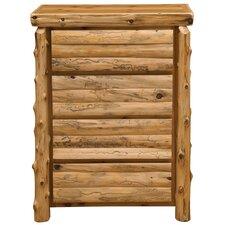 Premium Cedar 4 Drawer Chest by Fireside Lodge