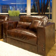 Laguna Top Grain Leather Chair by Elements Fine Home Furnishings