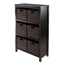 Martinsville 6 Drawers 3 Tier Storage Shelf by Charlton Home