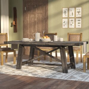 cottage & country kitchen & dining tables you'll love | wayfair