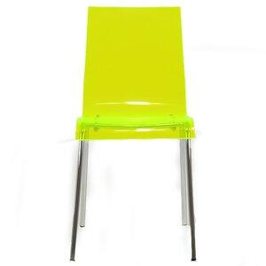 Ava Gel Acrylic Dining Chair