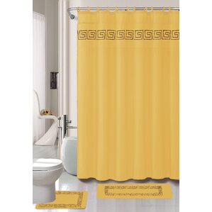 greek key curtains | wayfair