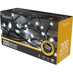 Multi Action LED 200 Light String Lighting