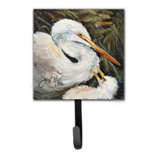 Egret Leash Holder and Wall Hook by Caroline's Treasures